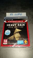 HEAVY RAIN ESSENTIALS MOVE EDITION SONY PS3 NEUF SOUS BLISTER VERSION FRANCAISE