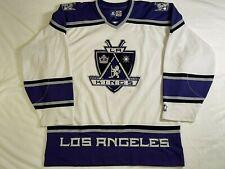 La Los Angeles Kings Hockey Jersey Nhl Starter Sz Xl White Blank 1998-2001