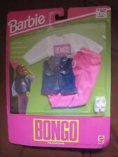1992 Barbie Bongo Fashion Outfit, Shirt, Pants, Denim Vest, Shoes, Sportswear