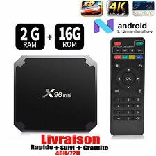 X96mini Smart Android 7.1 TV Box S905W Quad Core H.265 2GB/16GB WiFi Media C3