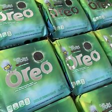 Oreo Trolls World Tour Limited Edition Cookies Green Creme Glitter Popping Candy