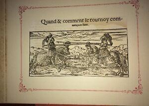COSMOGRAPHIE UNIVERSELLE DE MUNSTER  : 335 BOIS DU XVIéme siècle .