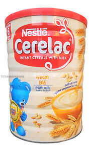 Nestle Cerelac Wheat with Milk Baby Food From 6 Months - 1KG