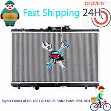 Radiator for Toyota Corolla AE101 102 112 1.6/1.8L Sedan Hatch 1994-2001 Auto/MT
