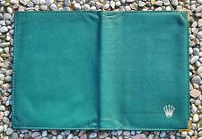 ROLEX Genuine GREEN CARD HOLDER / PORTAFOGLI di colore Verde