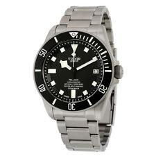 Tudor Pelagos Chronometer Black Dial Titanium Mens Watch 25600TN