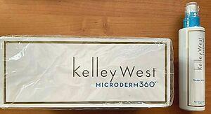Kelley West Microderm360 Personal Microdermabrasion Kit + Soothe360 Spray Mist