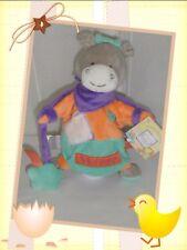 ♥ - Doudou Marionnette Ane Zig Zag Etiquettes  Doudou et Compagnie
