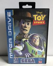 SEGA MEGADRIVE TOY STORY 100% COMPLETE BOXED PAL VERSION