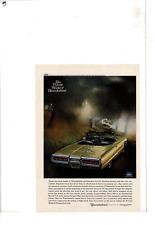 1965 THUNDERBIRD 2-DOOR CONVERTIBLE AD PRINT D207