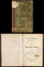 Militaria  Ludwig von Wissel  Schleswig-Holstein  Hamburg  1848