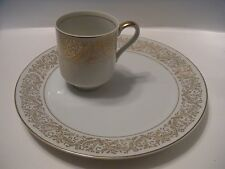 2 PC. SET ROYAL CROWN CHANTILLY 55/1751 LUNCHEON PLATE/CUP SET