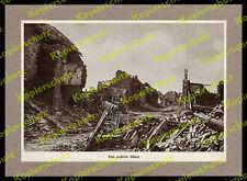 ORIG. impression de photographies de la somme bataille destructions Albert picardie maisons ruines 1916