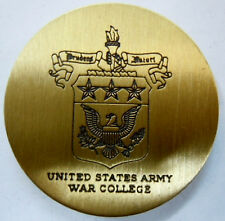 Médaille bronze USA UNITED STATES ARMY WAR COLLEGE ORIGINAL