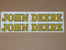 """JOHN DEERE DECAL SET 8"""" Adhesive, Also Used on Fender Pedal Tractor Wagon  J910"""