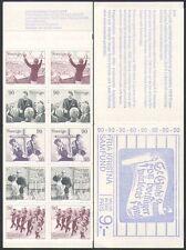 Sweden 1978 Religion/Salvation Army Band/Missionaries/Baptism 10v bklt (n15997e)