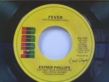 "ESTHER PHILLIPS ""FEVER / FOR ALL WE KNOW"" 45 MINT"