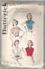 Butterick 1940s Collectable Sewing Patterns