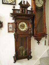 Antique German Gustav Becker Vienna Two-Weight Regulator Wall Clock