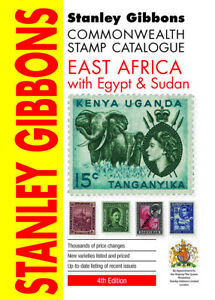 East Africa, Egypt & Sudan Stamp Catalogue- 4th Edition Stanley Gibbons SAVE 10%