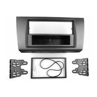 Ford Fiesta 2005 Onwards Noir Double Din Fascia Panneau Avant Trim Surround CT24FD18