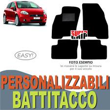 PER FIAT GRANDE PUNTO TAPPETINI AUTO SU MISURA IN MOQUETTE CON BATTITACCO | EASY