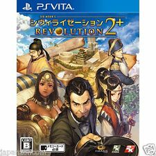 Sid Meier's Civilization Revolution 2 PS Vita SONY JAPANESE NEW JAPANZON
