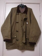 Vintage safari jacket hunting traveling metal toggle clasps