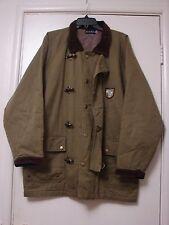 Vintage safari jacket hunting traveling metal toggle clasps