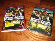 Pirates of the Caribbean: On Stranger Tides (DVD+Blu-ray, 2011, 2-Disc Set, D...