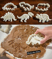 1/3Pcs Dinosaur Cookies Cutter Biscuit Baking Mold Cake Decoration Bakeware Mold