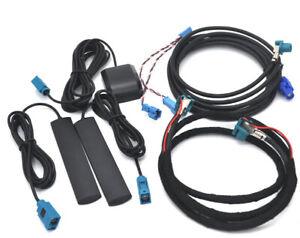 Cable antenna set for BMW F30 F10 F20 F15 HU-ENTRY to NBT / EVO retrofit upgrade