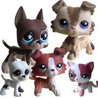 Brown Kitten Cat Dog Kitty Hasbro Littlest Pet Shop LPS Toys Figures Animal Doll