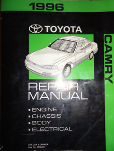 1996 TOYOTA CAMRY Service Repair Workshop Shop Manual OEM Factory