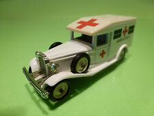 EDOCAR A6 PACKARD 1936 - AMBULANCE - WHITE 1:50? - GOOD CONDITION