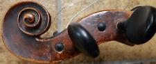 4/4 Violine, uralt, Schnecke angeschäftet, Charakter, Geige