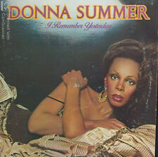 DONNA SUMMER - I REMEMBER YESTERDAY - I FEEL LOVE (LP / 33 TOURS) US FIRST PRESS