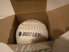 "Dudley Softball Cork Center Leather Sb 12Lnd Official Softball 12"" New"