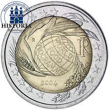 Italien 2 Euro Gedenkmünze 2004 bfr. Welternährung, World Food Programme, WFP