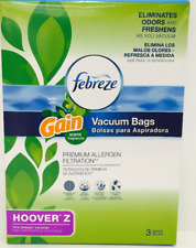 Hoover Z Febreze With Gain (3-Pack) Vacuum Bags