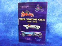 The Motor Car 1765-1914 HB BOOK Anthony Bird 1960 First Edition Vintage Veteran