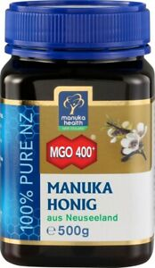 Original zertifizierter Manuka-Honig MGO 400+ 500g, -  Neuseeland.- Manukahonig