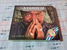 SANDOVAL Y EL CONJUNTO DE ARSENIO CON EL SON IMPORT CD NEW CAMAJAN RECORDS CUBAN
