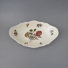 Wedgwood Queens Sprays Schale oval L. 25cm (D)