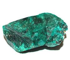 Dioptase Natural crystal specimen- 3gms 15mm Powerful heart healer #9304