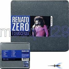 "RENATO ZERO ""I SUCCESSI"" CD STEEL BOX COLLECTION 2008"