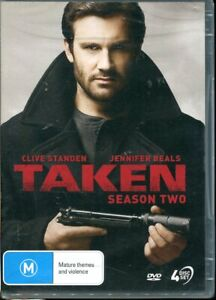 Taken Season 2 DVD NEW Region 4