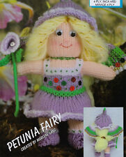 FAIRY   DOLL TOY CHRISTMAS KNITTING PATTERN  IN 4 PLY (1446)