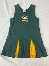 Green Bay Packers Baby Girls Cheerleading Dress Size 3T NFL