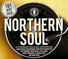 101 Northern Soul 5 CD Set Various Artists 2018